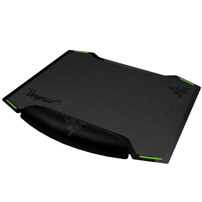 Razer Vespula, Black коврик для мышиRZ02-00320100-R3M1Двусторонний коврик для игровой мыши Razer Vespula имеет две различные игровые поверхности с износостойким покрытием, для возможности выбора предпочитаемого уровня скольжения мыши в игре. Сторона SPEED (СКОРОСТЬ) обеспечивает плавность быстрых перемещений мыши, а сторона CONTROL (КОНТРОЛЬ) гарантирует сверхточное позиционирование курсора и тактильную обратную связь с текстурированной поверхностью. Razer Vespula позволяет пользователю с невероятной легкостью менять поверхность коврика в зависимости от требований игры. Вы сможете дольше играть благодаря подставке под кисть, способной запоминать форму вашей руки. Подставка под кисть предназначена для снижения утомляемости, что усилит ваше преимущество в состязании. Вступите в бой со своими противниками с Razer Vespula. Двусторонний коврик для мыши: Предпочитаете ли вы расстреливать своих врагов на высокой скорости поверхности SPEED (СКОРОСТЬ) или с предельной точностью поверхности CONTROL (КОНТРОЛЬ), Razer Vespula...