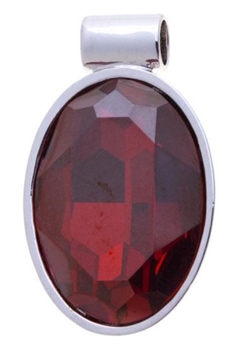 Подвеска Jenavi Рютур, цвет: серебряный, красный. k285f316k285f316Подвеска Jenavi Рютур выполнена из гипоаллергенного ювелирного сплава, оформлена покрытием из серебра и родия. Подвеска овальной формы дополнена граненым кристаллом Swarovski. Изделие имеет отверстие, которое позволит использовать шнур или цепочку любого диаметра. Подвеска Jenavi Рютур поможет дополнить любой образ и привнести в него завершающий яркий штрих.