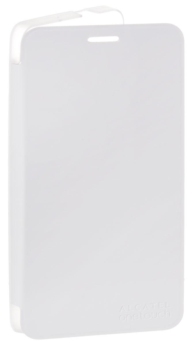 Alcatel FlipCover чехол для OT-6044D Pop Up, WhiteG6044-3BALSCG-RUAlcatel FlipCover - стильный и надежный полиуретановый чехол для Alcatel OT-6044D Pop Up. Он обеспечивает полную защиту смартфона от сколов и царапин, а также свободный доступ по всем кнопкам и портам. Чехол оснащен функцией комфортного включения / выключения дисплея при его открытии или закрытии.