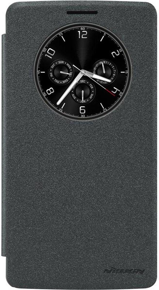 Nillkin Sparkle Leather Case чехол для LG G4 Stylus, BlackT-N-LG4Stylus-009Чехол Nillkin Sparkle Leather Case для LG G4 Stylus выполнен из высококачественного поликарбоната и экокожи. Он надежно фиксирует и защищает смартфон при падении. Обеспечивает свободный доступ ко всем разъемам и элементам управления.