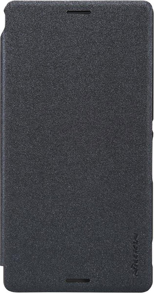 Nillkin Sparkle Leather Case чехол для Sony Xperia M4 Aqua, Black usams crown series glow in dark perfume tpu back case for iphone 6 4 7 green white