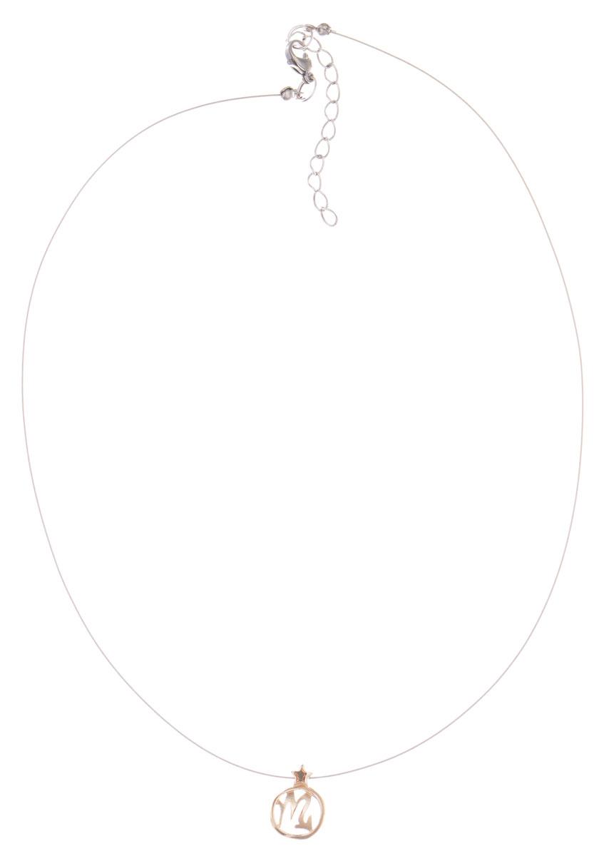 Кулон Jenavi Виргос, цвет: золотой. k355p990k355p990Кулон Jenavi Виргос выполнен в виде символа знака зодиака Скорпион из гипоаллергенного ювелирного сплава с позолотой. Кулон дополнен металлизированной нитью, которая фиксируется на замок-карабин. Длина изделия регулируется за счет дополнительных звеньев. Кулон Jenavi Виргос поможет дополнить любой образ и привнести в него завершающий штрих.