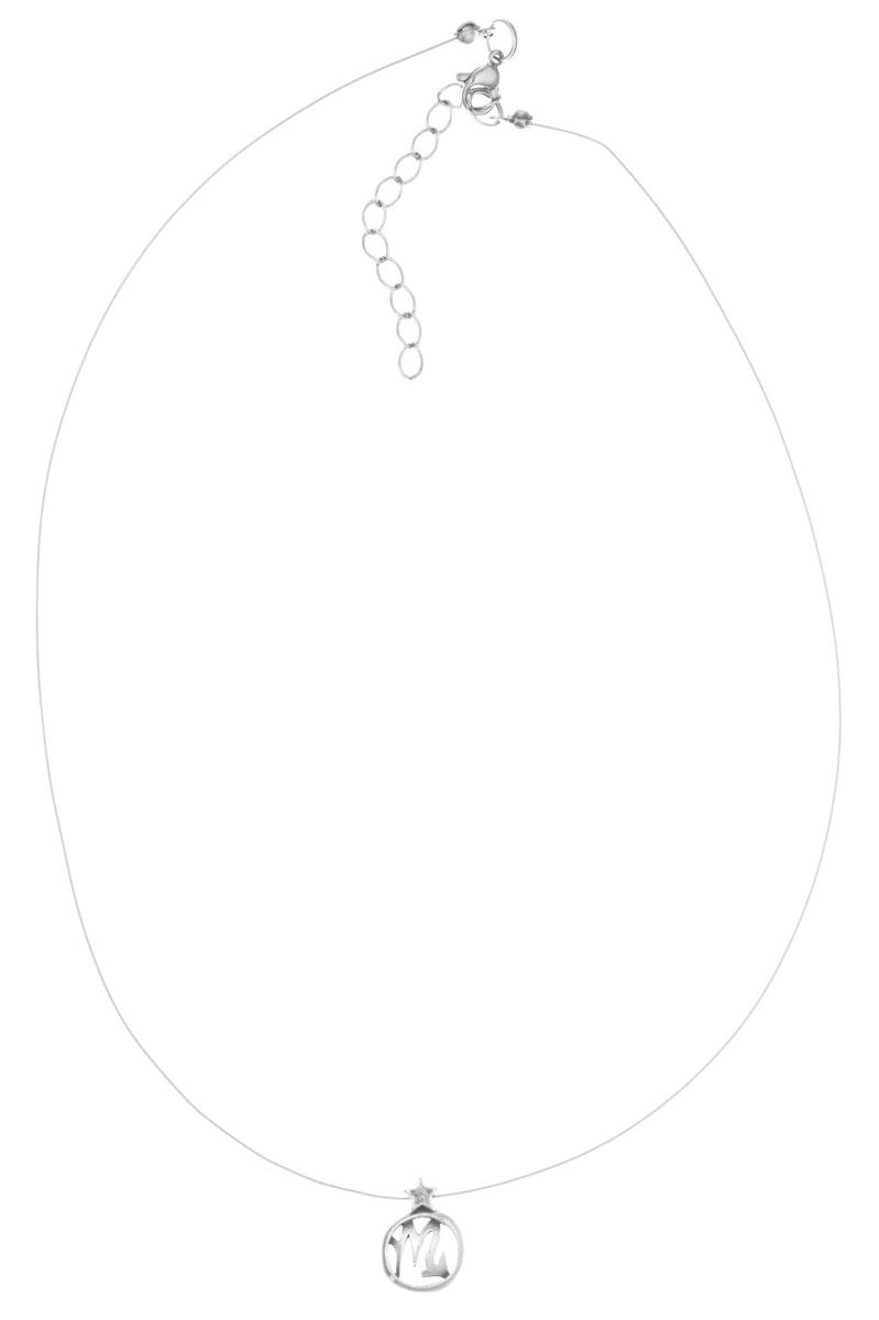 Кулон Jenavi Виргос, цвет: серебряный. k3553990k3553990Кулон Jenavi Виргос выполнен в виде символа знака зодиака Скорпион из гипоаллергеннго ювелирного сплава с покрытием из черненого серебра. Кулон дополнен металлизированной нитью, которая фиксируется на замок-карабин. Длина изделия регулируется за счет дополнительных звеньев. Кулон Jenavi Виргос поможет дополнить любой образ и привнести в него завершающий штрих.