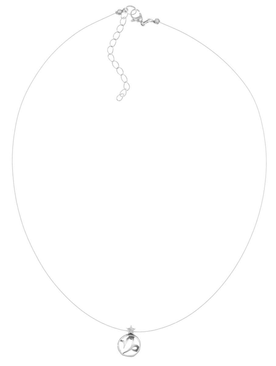 Кулон Jenavi Каприкорн, цвет: серебряный. k3533990k3533990Кулон Jenavi Каприкорн выполнен в виде символа знака зодиака Козерог из гипоаллергенного ювелирного сплава. Кулон дополнен металлизированной нитью, которая фиксируется на замок-карабин. Длина изделия регулируется за счет дополнительных звеньев. Кулон Jenavi Каприкорн поможет дополнить любой образ и привнести в него завершающий штрих.