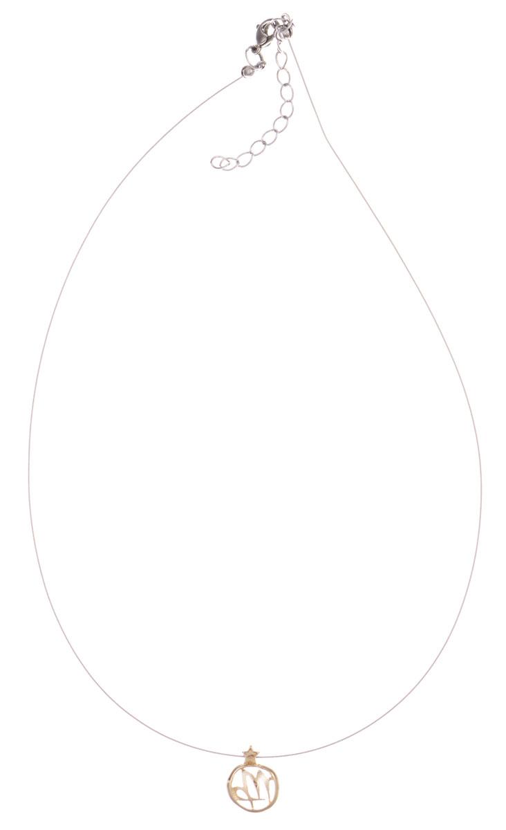 Кулон Jenavi Скорпио, цвет: золотой. k363p990k363p990Кулон Jenavi Скорпио выполнен в виде символа знака зодиака Дева из гипоаллергенного ювелирного сплава с позолотой. Кулон дополнен металлизированной нитью, которая фиксируется на замок-карабин. Длина изделия регулируется за счет дополнительных звеньев. Кулон Jenavi Скорпио поможет дополнить любой образ и привнести в него завершающий штрих.