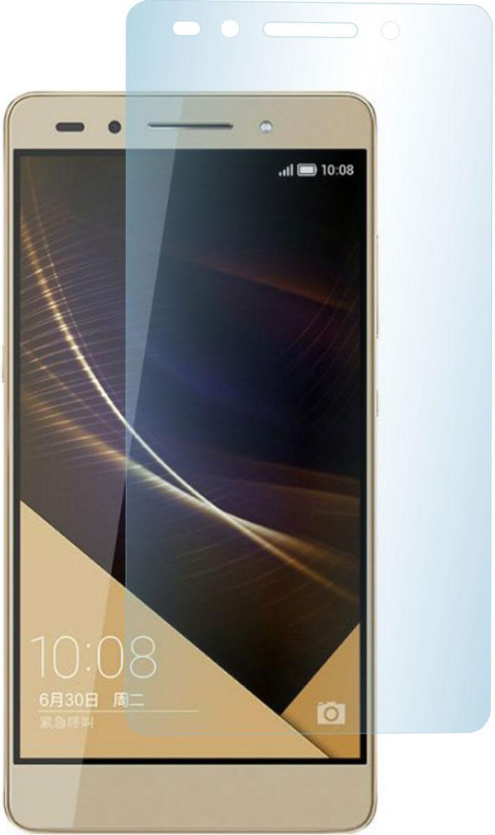 Skinbox защитное стекло для Huawei Honor 7, глянцевоеSP-190Защитное стекло Skinbox для Huawei Honor 7 предназначено для защиты поверхности экрана от царапин, потертостей, отпечатков пальцев и прочих следов механического воздействия. Оно имеет окаймляющую загнутую мембрану последнего поколения, а также олеофобное покрытие. Изделие изготовлено из закаленного стекла высшей категории, с высокой чувствительностью и сцеплением с экраном.