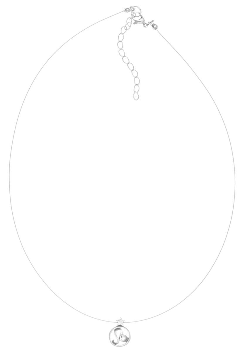Кулон Jenavi Лео, цвет: серебряный. k3563990k3563990Кулон Jenavi Лео выполнен в виде символа знака зодиака Лев из гипоаллергенного ювелирного сплава. Кулон дополнен металлизированной нитью, которая фиксируется на замок-карабин. Длина изделия регулируется за счет дополнительных звеньев. Кулон Jenavi Лео поможет дополнить любой образ и привнести в него завершающий штрих.
