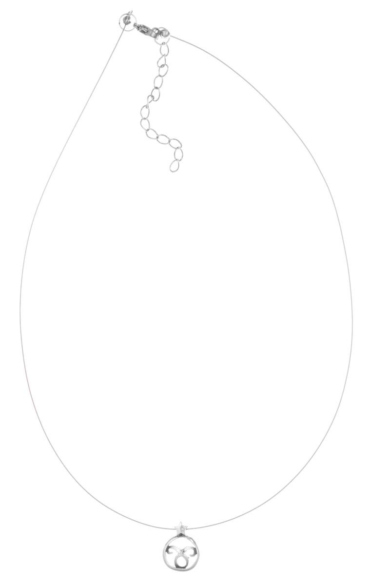 Кулон Jenavi Торес, цвет: серебряный. k3583990k3583990Кулон Jenavi Торес выполнен в виде символа знака зодиака Телец из гипоаллергенного ювелирного сплава с покрытием из черненого серебра. Кулон дополнен металлизированной нитью, которая фиксируется на замок-карабин. Длина изделия регулируется за счет дополнительных звеньев. Кулон Jenavi Торес поможет дополнить любой образ и привнести в него завершающий штрих.