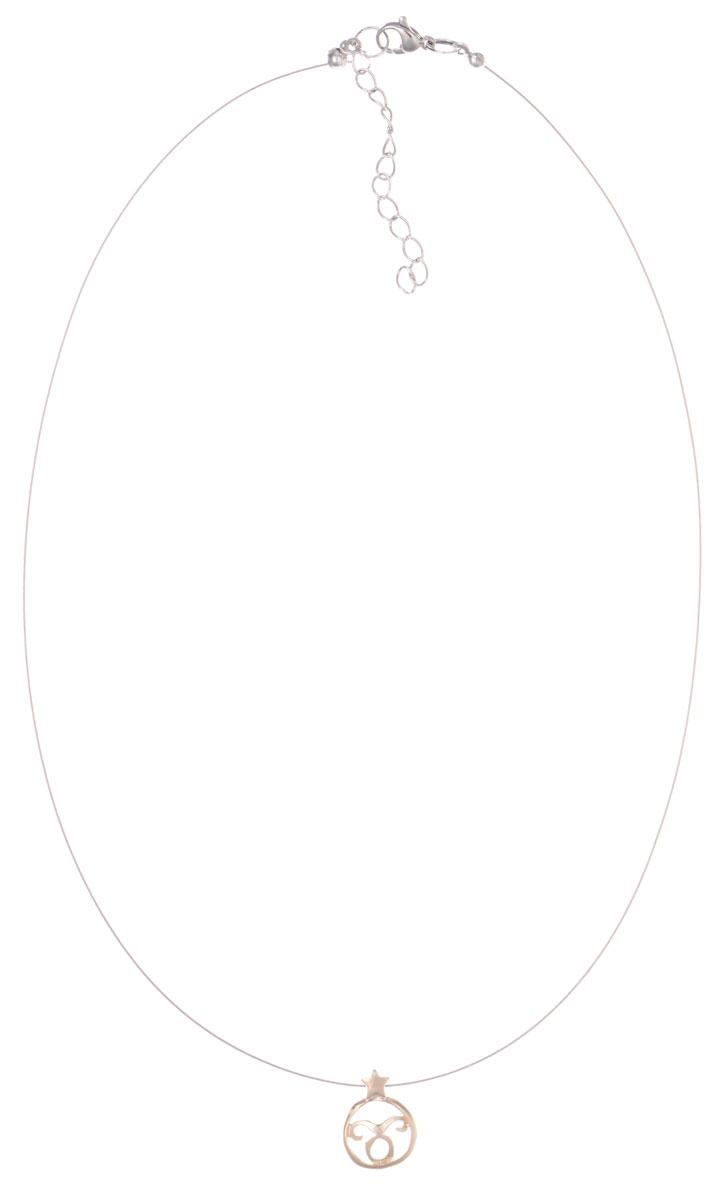 Кулон Jenavi Торес, цвет: золотой. k358p990k358p990Кулон Jenavi Торес выполнен в виде символа знака зодиака Телец из гипоаллергенного ювелирного сплава с позолотой. Кулон дополнен металлизированной нитью, которая фиксируется на замок-карабин. Длина изделия регулируется за счет дополнительных звеньев. Кулон Jenavi Торес поможет дополнить любой образ и привнести в него завершающий штрих.