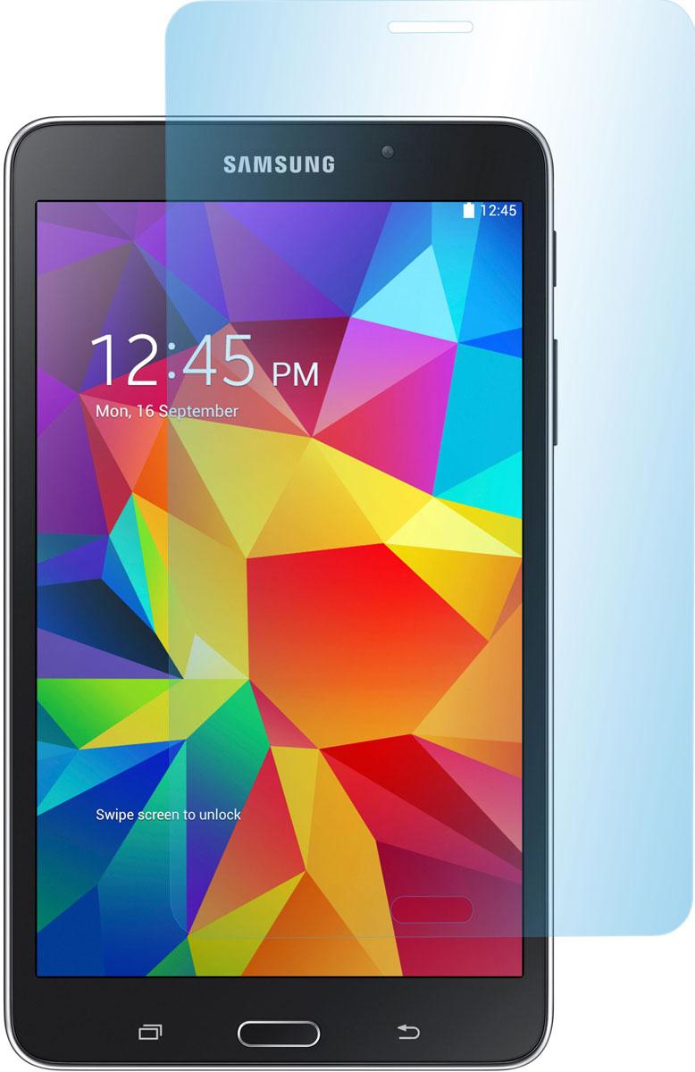 Skinbox защитное стекло для Samsung Galaxy Tab 4 7.0, глянцевоеSP-171Защитное стекло Skinbox для Samsung Galaxy Tab 4 7.0 предназначено для защиты поверхности экрана от царапин, потертостей, отпечатков пальцев и прочих следов механического воздействия. Оно имеет окаймляющую загнутую мембрану последнего поколения, а также олеофобное покрытие. Изделие изготовлено из закаленного стекла высшей категории, с высокой чувствительностью и сцеплением с экраном.
