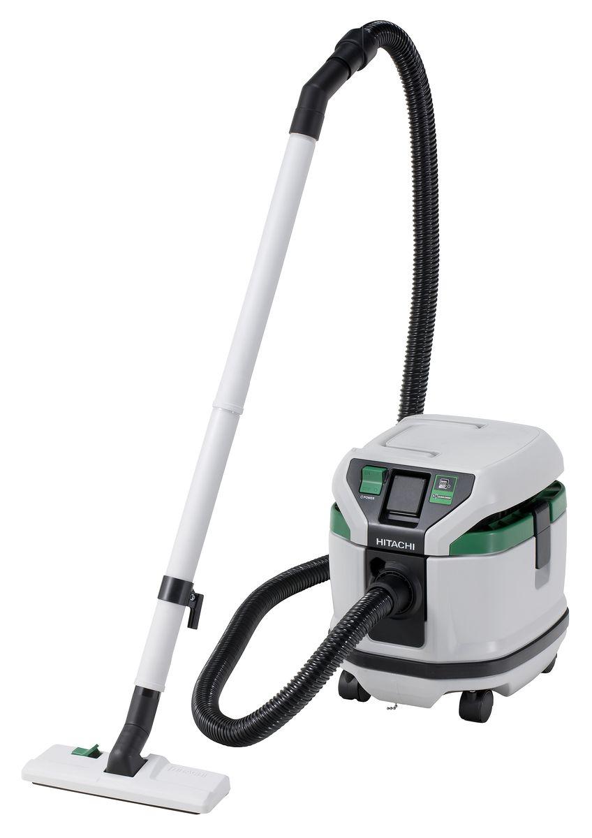 Промышленный пылесос Hitachi RP150YB, цвет: серебристый, зеленый