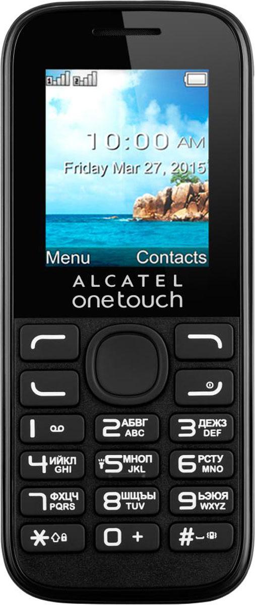 Alcatel OT-1052D Dual Sim, Black ( 1052D-3AALRU1 )