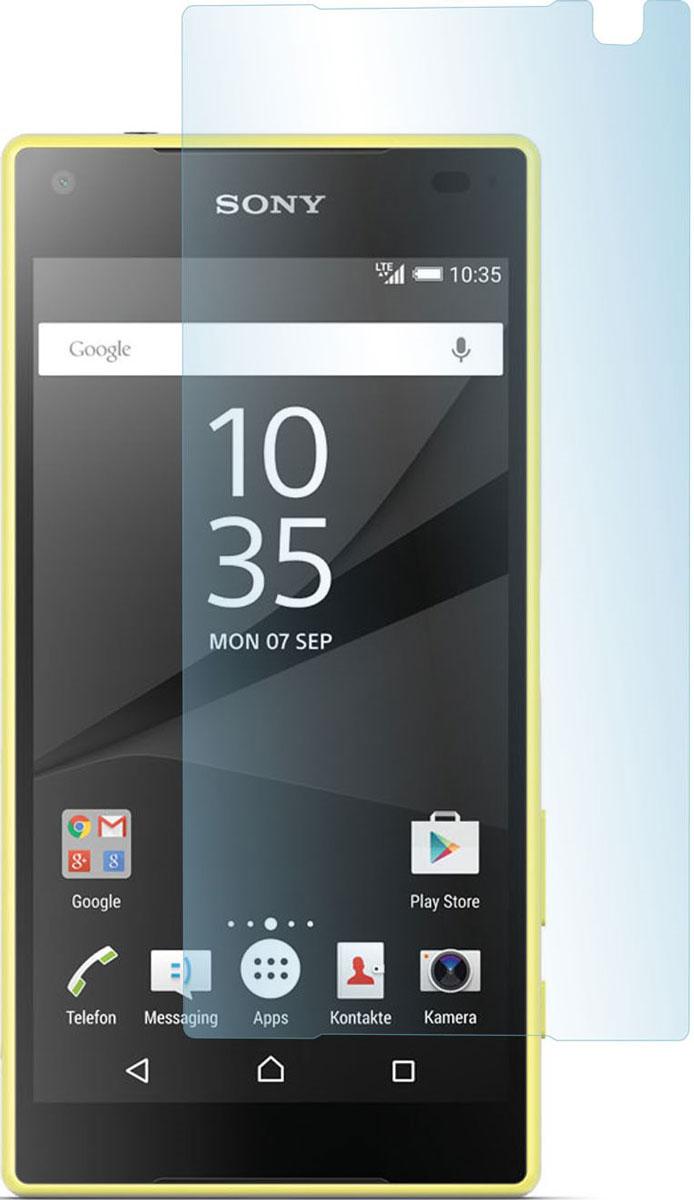 Skinbox защитное стекло для Sony Xperia Z5 Compact, глянцевоеSP-188Защитное стекло Skinbox для Sony Xperia Z5 Compact предназначено для защиты поверхности экрана от царапин, потертостей, отпечатков пальцев и прочих следов механического воздействия. Оно имеет окаймляющую загнутую мембрану последнего поколения, а также олеофобное покрытие. Изделие изготовлено из закаленного стекла высшей категории, с высокой чувствительностью и сцеплением с экраном.
