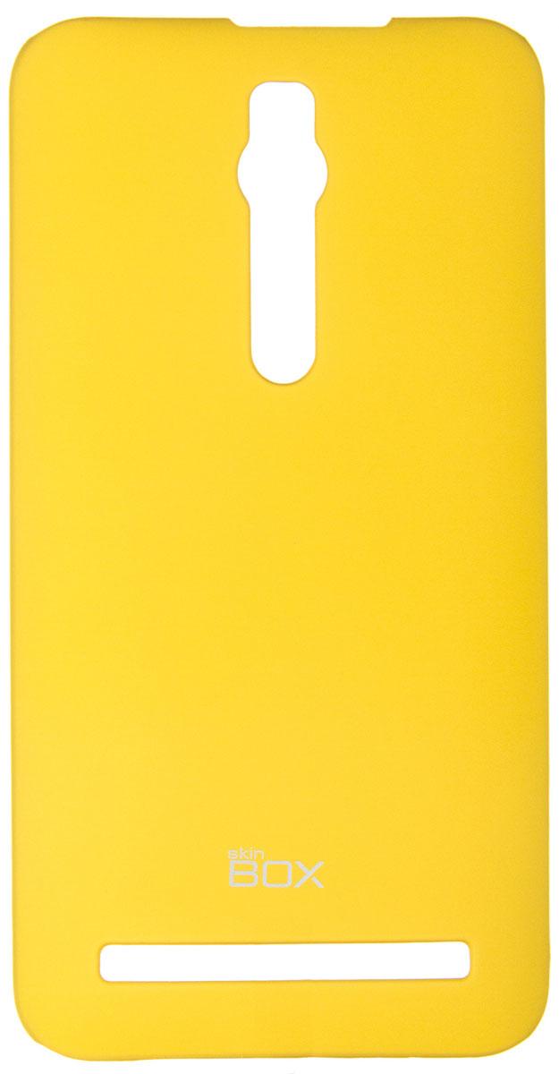 Skinbox 4People чехол для Asus Zenfone 2 ZE550ML/551ML, YellowT-S-AZ2-002Чехол-накладка Skinbox 4People для Asus Zenfone 2 ZE550ML/551ML бережно и надежно защитит ваш смартфон от пыли, грязи, царапин и других повреждений. Выполнен из высококачественного поликарбоната, плотно прилегает и не скользит в руках. Чехол оставляет свободным доступ ко всем разъемам и кнопкам устройства.