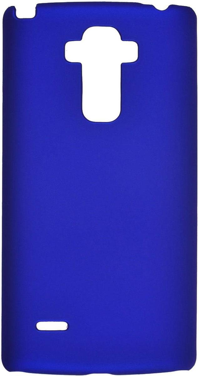 Skinbox 4People чехол для LG G4 Stylus, BlueT-S-LG4Stylus-002Чехол-накладка Skinbox 4People для LG G4 Stylus бережно и надежно защитит ваш смартфон от пыли, грязи, царапин и других повреждений. Выполнен из высококачественного поликарбоната, плотно прилегает и не скользит в руках. Чехол оставляет свободным доступ ко всем разъемам и кнопкам устройства.