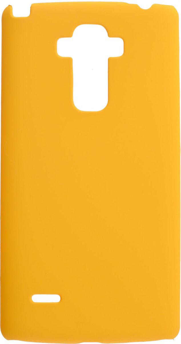 Skinbox 4People чехол для LG G4 Stylus, YellowT-S-LG4Stylus-002Чехол-накладка Skinbox 4People для LG G4 Stylus бережно и надежно защитит ваш смартфон от пыли, грязи, царапин и других повреждений. Выполнен из высококачественного поликарбоната, плотно прилегает и не скользит в руках. Чехол оставляет свободным доступ ко всем разъемам и кнопкам устройства.