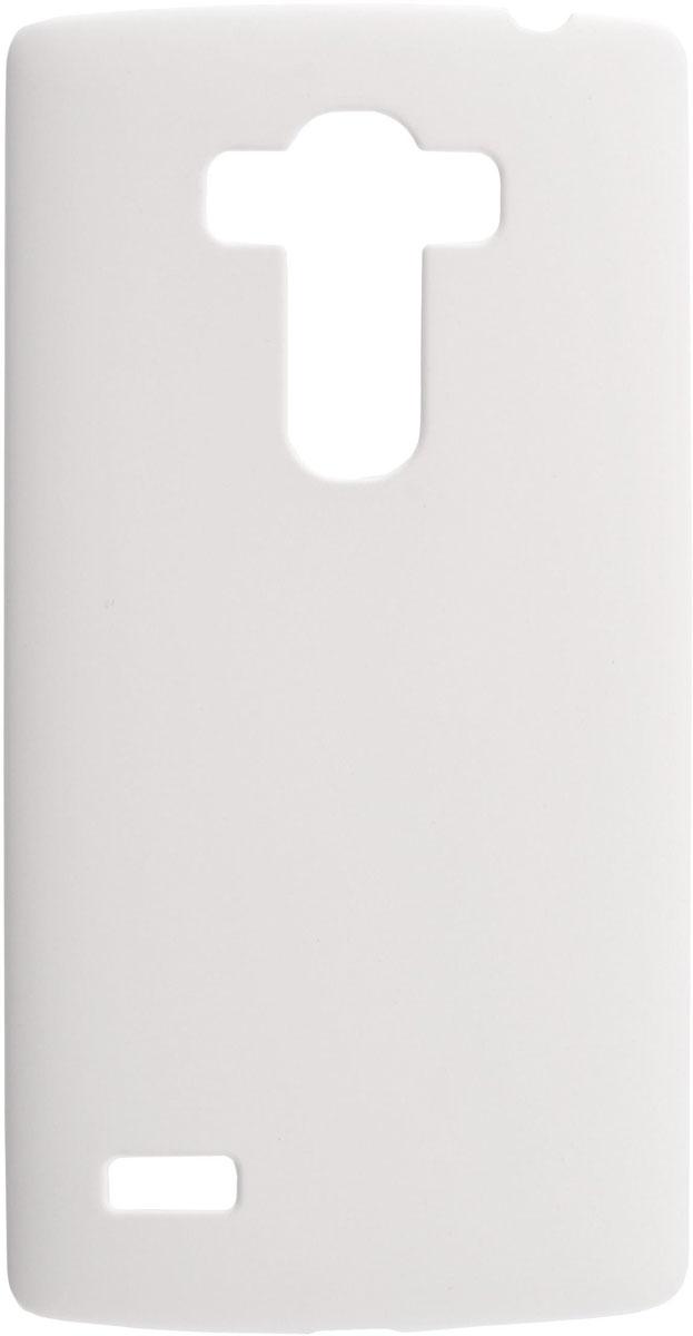 Skinbox 4People чехол для LG G4S, WhiteT-S-LG4S-002Чехол-накладка Skinbox 4People для LG G4S бережно и надежно защитит ваш смартфон от пыли, грязи, царапин и других повреждений. Выполнен из высококачественного поликарбоната, плотно прилегает и не скользит в руках. Чехол оставляет свободным доступ ко всем разъемам и кнопкам устройства.