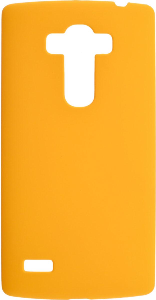 Skinbox 4People чехол для LG G4S, YellowT-S-LG4S-002Чехол-накладка Skinbox 4People для LG G4S бережно и надежно защитит ваш смартфон от пыли, грязи, царапин и других повреждений. Выполнен из высококачественного поликарбоната, плотно прилегает и не скользит в руках. Чехол оставляет свободным доступ ко всем разъемам и кнопкам устройства.