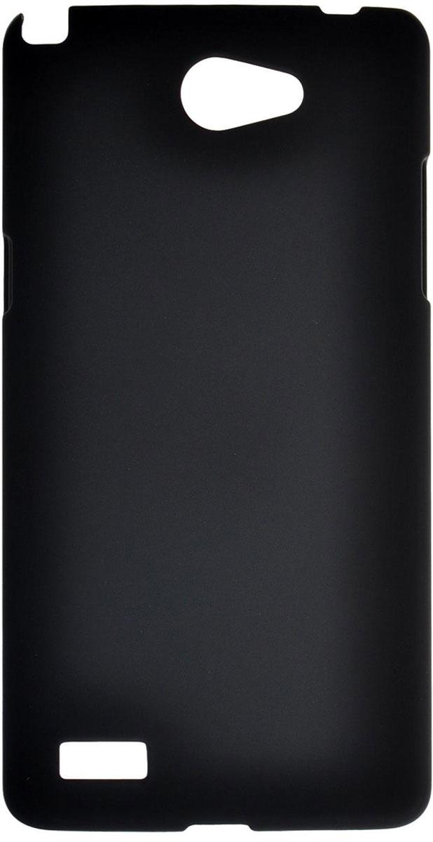 Skinbox 4People чехол для LG Max (L Bello 2), BlackT-S-LLB2-002Чехол-накладка Skinbox 4People для LG Max (L Bello 2) бережно и надежно защитит ваш смартфон от пыли, грязи, царапин и других повреждений. Выполнен из высококачественного поликарбоната, плотно прилегает и не скользит в руках. Чехол оставляет свободным доступ ко всем разъемам и кнопкам устройства.