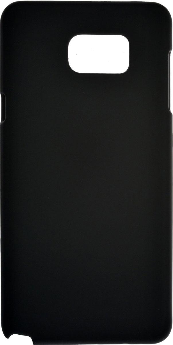 Skinbox 4People чехол для Samsung Galaxy Note 5, BlackT-S-SGN5-002Чехол-накладка Skinbox 4People для Samsung Galaxy Note 5 бережно и надежно защитит ваш смартфон от пыли, грязи, царапин и других повреждений. Выполнен из высококачественного поликарбоната, плотно прилегает и не скользит в руках. Чехол оставляет свободным доступ ко всем разъемам и кнопкам устройства.