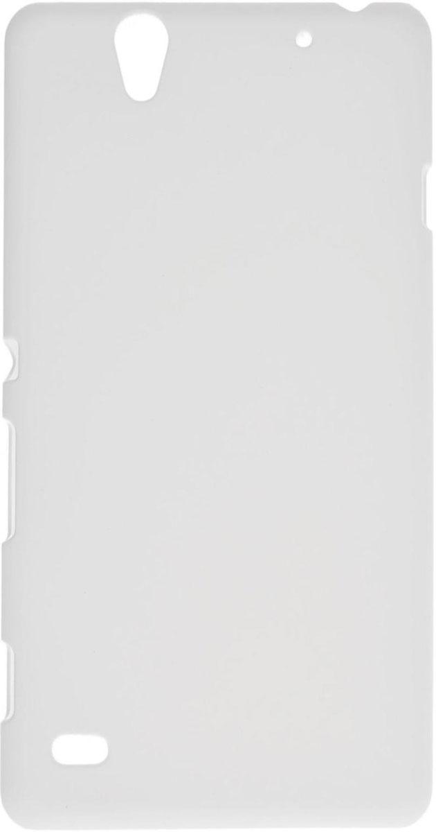 Skinbox 4People чехол для Sony Xperia C4, WhiteT-S-SXC4-002Чехол-накладка Skinbox 4People для Sony Xperia C4 бережно и надежно защитит ваш смартфон от пыли, грязи, царапин и других повреждений. Выполнен из высококачественного поликарбоната, плотно прилегает и не скользит в руках. Чехол оставляет свободным доступ ко всем разъемам и кнопкам устройства.