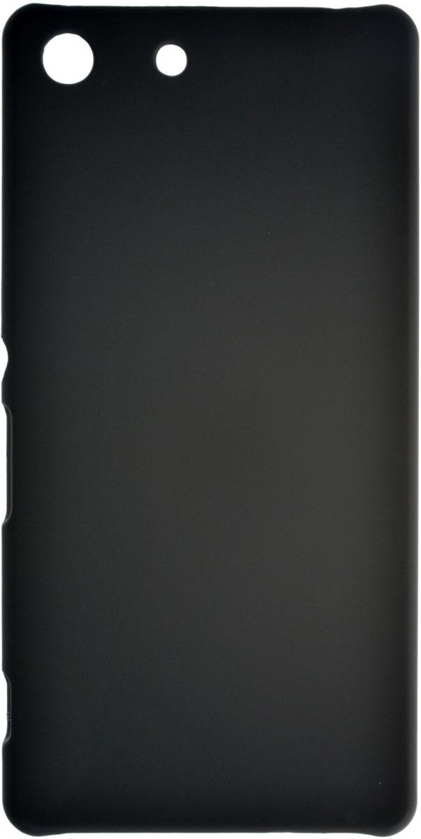 Skinbox 4People чехол для Sony Xperia M5, BlackT-S-SXM5-002Чехол-накладка Skinbox 4People для Sony Xperia M5 бережно и надежно защитит ваш смартфон от пыли, грязи, царапин и других повреждений. Выполнен из высококачественного поликарбоната, плотно прилегает и не скользит в руках. Чехол оставляет свободным доступ ко всем разъемам и кнопкам устройства.