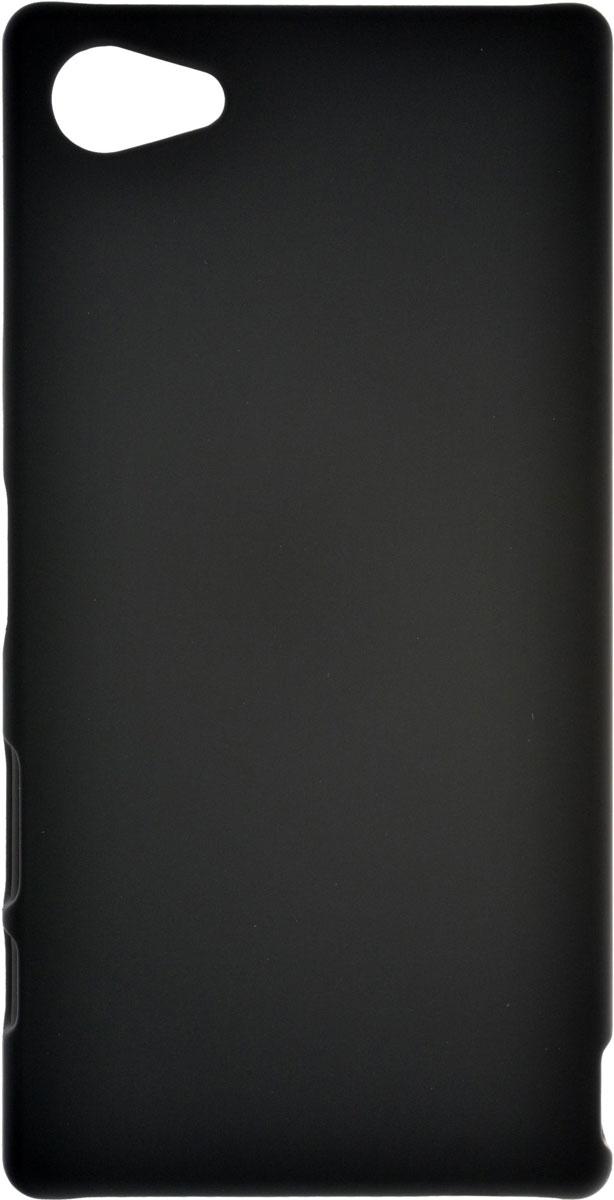 Skinbox 4People чехол для Sony Xperia Z5 Compact, BlackT-S-SXZ5C-002Чехол-накладка Skinbox 4People для Sony Xperia Z5 Compact бережно и надежно защитит ваш смартфон от пыли, грязи, царапин и других повреждений. Выполнен из высококачественного поликарбоната, плотно прилегает и не скользит в руках. Чехол оставляет свободным доступ ко всем разъемам и кнопкам устройства.
