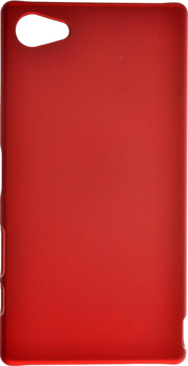 Skinbox 4People чехол для Sony Xperia Z5 Compact, RedT-S-SXZ5C-002Чехол-накладка Skinbox 4People для Sony Xperia Z5 Compact бережно и надежно защитит ваш смартфон от пыли, грязи, царапин и других повреждений. Выполнен из высококачественного поликарбоната, плотно прилегает и не скользит в руках. Чехол оставляет свободным доступ ко всем разъемам и кнопкам устройства.