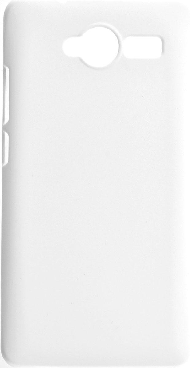 Skinbox 4People чехол для ZTE Blade L3, WhiteT-S-ZBL3-002Чехол-накладка Skinbox 4People для ZTE Blade L3 бережно и надежно защитит ваш смартфон от пыли, грязи, царапин и других повреждений. Выполнен из высококачественного поликарбоната, плотно прилегает и не скользит в руках. Чехол оставляет свободным доступ ко всем разъемам и кнопкам устройства. В комплект также входит защитная пленка на экран.