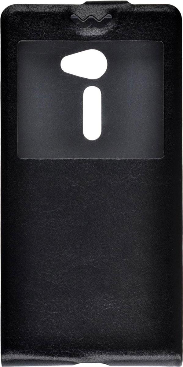 Skinbox Flip slim AW чехол для Asus Zenfone 2 ZE500CL, BlackT-S-AZ25-001Чехол Skinbox Flip slim AW для Asus Zenfone 2 ZE500CL выполнен из высококачественного поликарбоната и экокожи. Он обеспечивает надежную защиту корпуса и экрана смартфона и надолго сохраняет его привлекательный внешний вид. Чехол также обеспечивает свободный доступ ко всем разъемам и клавишам устройства.
