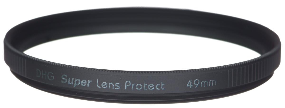 Marumi DHG Super Lens Protect защитный светофильтр (49 мм)DHG Super Lens ProtectСветофильтр Marumi DHG Super Lens Protect относится к последнему поколению высококлассных защитных светофильтров для цифровой фототехники. Он имеет специальное двухстороннее просветление, устраняющее ультрафиолетовые лучи, и улучшающее при этом качество изображения. Также светофильтр Marumi DHG Super Lens Protect отсекает инфракрасные лучи, вредные для матрицы цифровой камеры, значительно продлевая срок ее службы. Просветление DHG Super имеет очень прочный наружный защитный слой, который защищает фильтр от истирания и царапин, а также обладает водоотталкивающим и грязеотталкивающим эффектом. Любые загрязнения на светофильтре очень легко удаляются при помощи салфетки. Светофильтры Marumi DHG Super Lens Protect имеют также антистатическую защиту. Светофильтры Marumi DHG Super Lens Protect изготовлены из сверхтонкого и прочного оптического стекла, закрепленного через герметичную прокладку, тонкая оправа позволяет использовать сверх широкоугольные ...