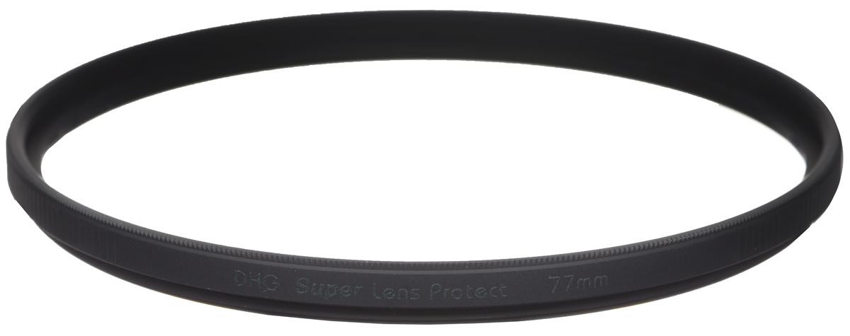 Marumi DHG Super Lens Protect защитный светофильтр (77 мм)DHG Super Lens ProtectСветофильтр Marumi DHG Super Lens Protect относится к последнему поколению высококлассных защитных светофильтров для цифровой фототехники. Он имеет специальное двухстороннее просветление, устраняющее ультрафиолетовые лучи, и улучшающее при этом качество изображения. Также светофильтр Marumi DHG Super Lens Protect отсекает инфракрасные лучи, вредные для матрицы цифровой камеры, значительно продлевая срок ее службы. Просветление DHG Super имеет очень прочный наружный защитный слой, который защищает фильтр от истирания и царапин, а также обладает водоотталкивающим и грязеотталкивающим эффектом. Любые загрязнения на светофильтре очень легко удаляются при помощи салфетки. Светофильтры Marumi DHG Super Lens Protect имеют также антистатическую защиту. Светофильтры Marumi DHG Super Lens Protect изготовлены из сверхтонкого и прочного оптического стекла, закрепленного через герметичную прокладку, тонкая оправа позволяет использовать сверх широкоугольные ...