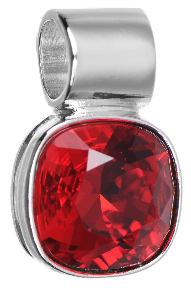 Подвеска Jenavi Дарила, цвет: серебряный, красный. k271f316k271f316Подвеска Jenavi Дарила выполнена из гипоаллергенного ювелирного сплава, оформлена покрытием из серебра и родия. Подвеска дополнена граненым кристаллом Swarovski. Изделие имеет отверстие, которое позволит использовать шнур или цепочку любого диаметра. Подвеска Jenavi Дарила поможет дополнить любой образ и привнести в него завершающий яркий штрих.