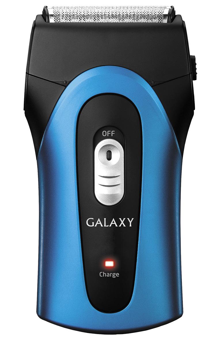 Galaxy GL4204 электробритва4630003365354Аккумуляторная бритва Galaxy GL4204, обеспечивающая точное гладкое бритье, позволяет сделать этот процесс более комфортным, качественным и совершенно безопасным. Ультратонкие сетки из нержавеющей стали Защита от непроизвольного включения