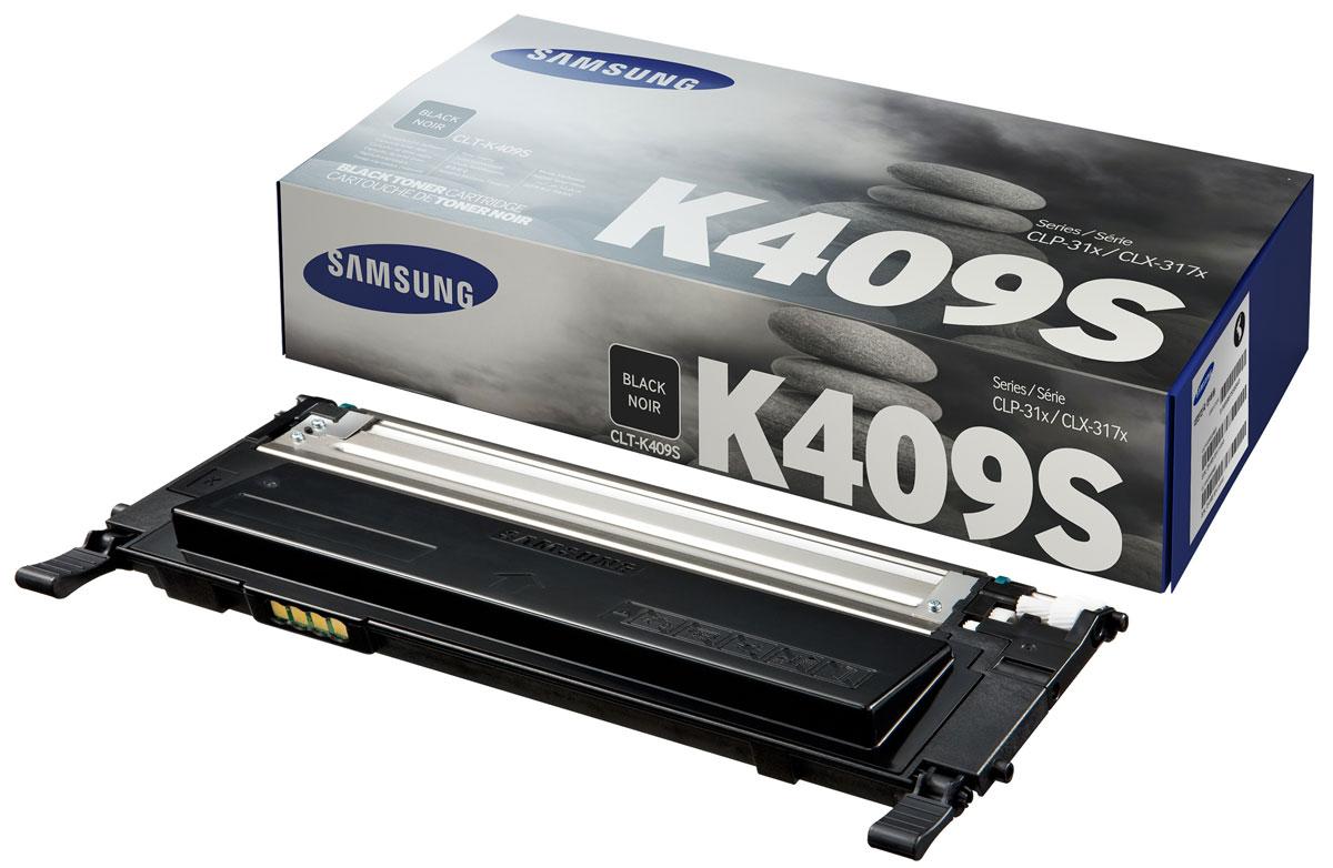 Samsung CLT-K409S, Black тонер-картридж для CLP-310/310N/315, CLX-3175FNCLT-K409SТонер-картридж Samsung CLT-K409S для лазерных принтеров CLP-310/310N/315, CLX-3175FN рассчитан в среднем на печать 1500 страниц. Заявленный ресурс тонер-картриджа отвечает стандарту ISO/IEC 19752).
