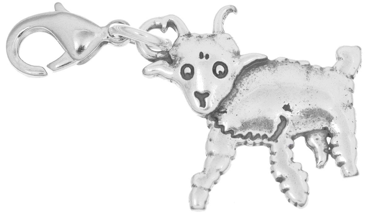 Брелок Jenavi 'Барашек', цвет: серебряный. r6503b90