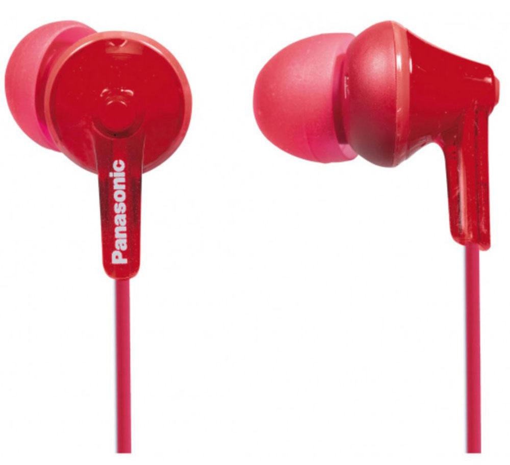 Panasonic RP-HJE125E, Red наушникиRP-HJE125E-RНовая модель наушников-вкладышей RP-HJE125, основана на эргономичном дизайне Ergofit, обеспечивающем комфорт при использовании. За качественное звучание отвечает динамик OctaRib. Корпус, провода и амбушюры выполнены в одной цветовой гамме, что подчеркивает единство дизайна. В комплект входят три пары амбушюров разного размера для максимального удобства пользователей. Модель поставляется в девяти цветах.