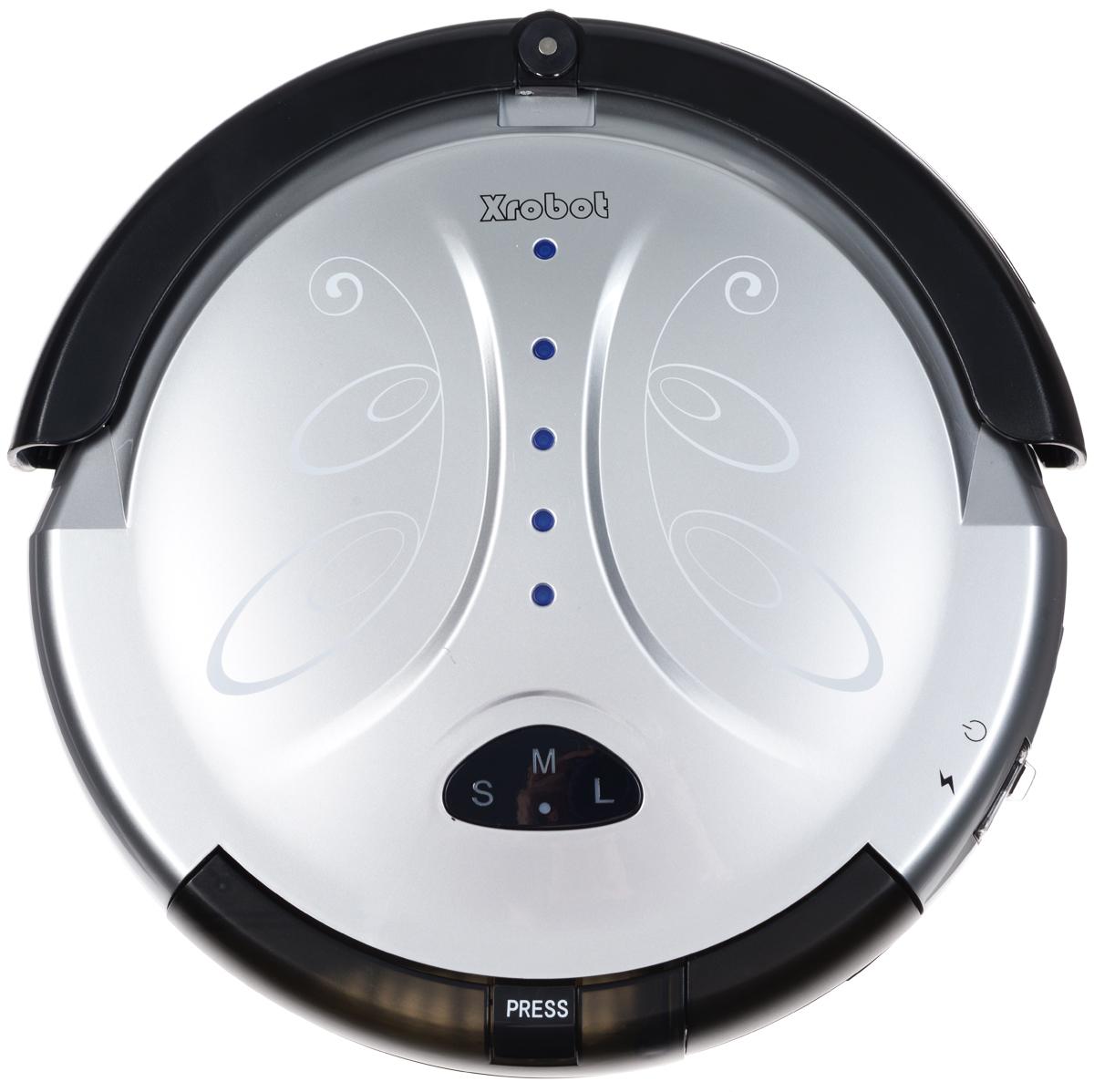 Xrobot A8, Silver Black робот-пылесосA8Пылесос Xrobot A8 представляет собой интеллектуальный, высокотехнологичный, полностью автоматический прибор, который в основном применяется в домашних условиях, в отелях и небольших офисах для чистки различных ковров с коротким ворсом, деревянных полов, керамической плитки и т. д. Интеллектуальная функция: автоматическая уборка комнат, отсутствие ручного контроля во время всего процесса чистки. Автоматическая зарядка: когда батарея разряжается, робот-пылесос автоматически ищет базу для зарядки и осуществляет зарядку. Ручная зарядка: робот-пылесос можно также заряжать вручную с помощью зарядного устройства. Автоматическая чистка: после установки этой функции робот-пылесос автоматически продолжит работу после полной зарядки. Функция защиты от падения: в нормальных условиях работы предотвращает падение робота-пылесоса со стола или лестницы Функция отложенного старта чистки позволяет выполнить зарядку в течение 4-5 часов и...