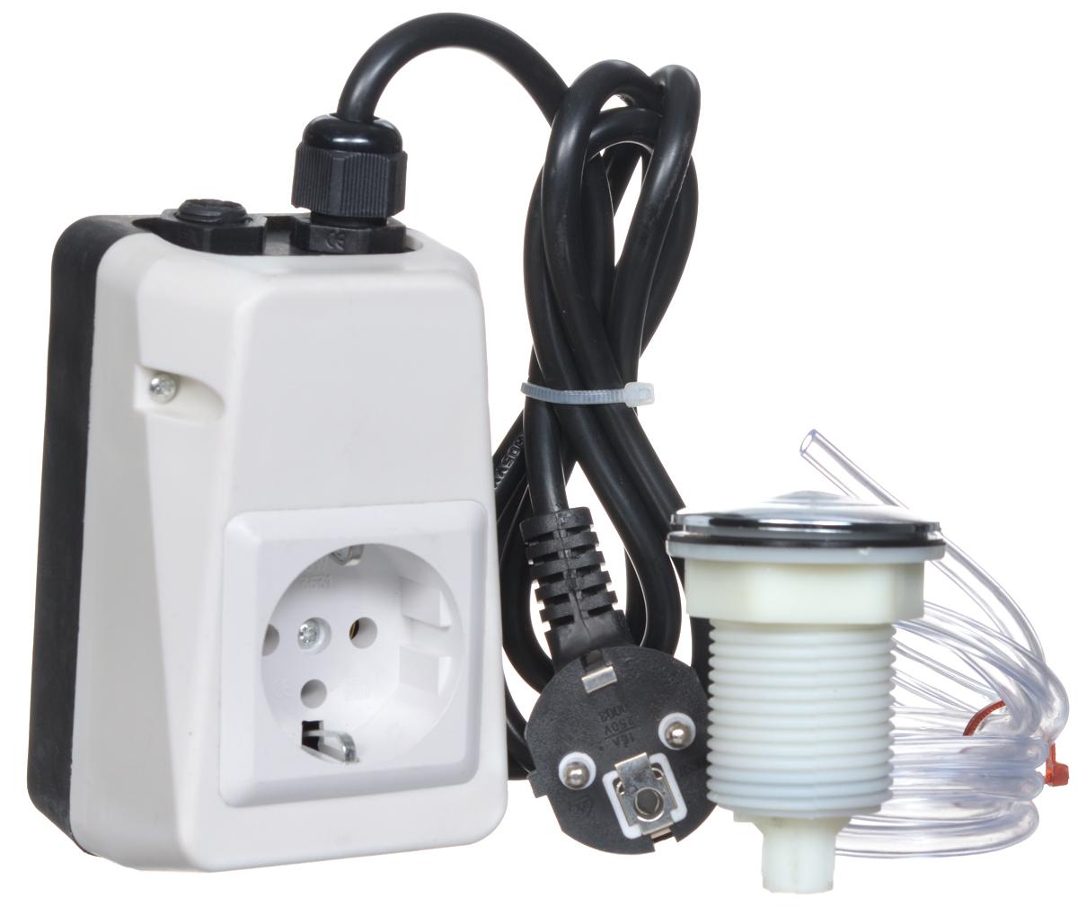 Пневмокнопка для измельчителя отходов WFHT-300dWFHT-300dПневматический воздушный выключатель - кнопка WFHT-300 предназначен для безопасного включения/выключения измельчителя пищевых отходов. В отличие от электровыключателя, пневмовыключатель может быть установлен в помещениях с повышенной влажностью, а также во влажной среде рядом с кранами или раковинами. При нажатии пневмовыключателя, воздух нагнетается в трубке, замыкая контакты выключателя. Таким образом подается питание для утилизации отходов. Благодаря специальному переключающему устройству, пневмовыключатель остаётся в замкнутом состоянии до следующего нажатия для разъединения и отключения питания подаваемого на измельчитель пищевых отходов. Защита от перегрузки Диаметр трубки: 0,7 см Длина трубки: 1,2 м Европейский штепсель