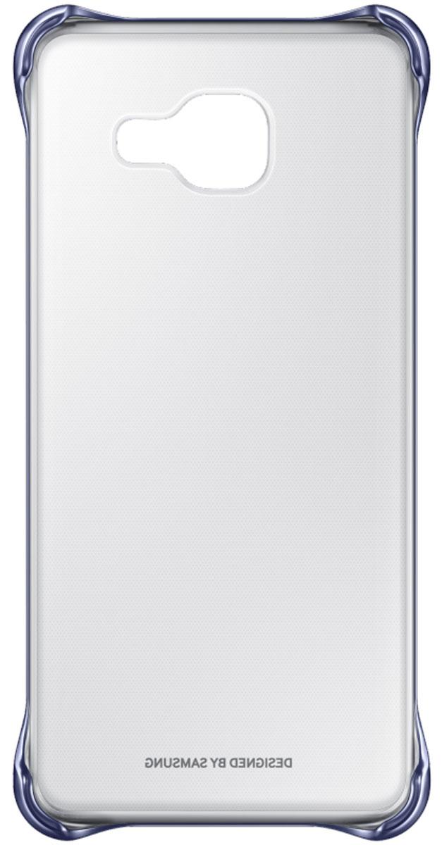 Samsung EF-QA310C Clear Cover чехол для Galaxy A3 (2016), BlackEF-QA310CBEGRUЧехол Samsung Clear Cover подходит для модели смартфона Samsung Galaxy A3 (SM-A310F). Оригинальный аксессуар плотно прилегает к корпусу устройства и защищает от механических повреждений и пыли. Прозрачная поверхность чехла с цветной окантовкой сохраняет оригинальный внешний вид Galaxy A3 (SM-A310F). Чехол сделан из прочного поликарбоната, легко надевается и снимается. При использовании чехла в паре со смартфоном все функциональные порты и клавиши остаются доступными.