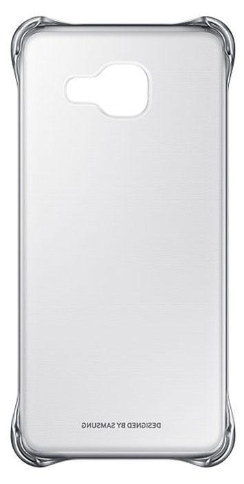 Samsung EF-QA310C Clear Cover чехол для Galaxy A3 (2016), SilverEF-QA310CSEGRUЧехол Samsung Clear Cover подходит для модели смартфона Samsung Galaxy A3 (SM-A310F). Оригинальный аксессуар плотно прилегает к корпусу устройства и защищает от механических повреждений и пыли. Прозрачная поверхность чехла с цветной окантовкой сохраняет оригинальный внешний вид Galaxy A3 (SM-A310F). Чехол сделан из прочного поликарбоната, легко надевается и снимается. При использовании чехла в паре со смартфоном все функциональные порты и клавиши остаются доступными.