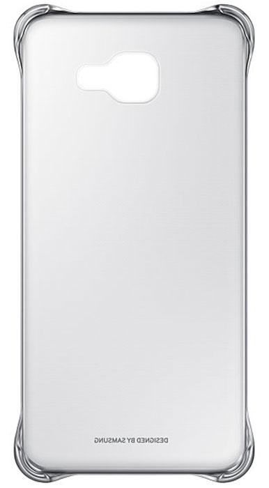 Samsung EF-QA710C Clear Cover чехол для Galaxy A7 (2016), SilverEF-QA710CSEGRUЧехол Samsung Clear Cover подходит для модели смартфона Samsung Galaxy A7 (SM-A710F). Оригинальный аксессуар плотно прилегает к корпусу устройства и защищает от механических повреждений и пыли. Прозрачная поверхность чехла с цветной окантовкой сохраняет оригинальный внешний вид Galaxy A7 (SM-A710F). Чехол сделан из прочного поликарбоната, легко надевается и снимается. При использовании чехла в паре со смартфоном все функциональные порты и клавиши остаются доступными.
