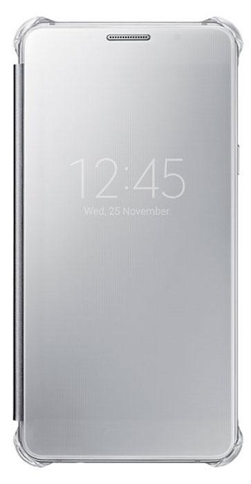 Samsung EF-ZA510 Clear View чехол для Galaxy A5 (2016), SilverEF-ZA510CSEGRUЧехол Samsung ClearView для Galaxy A5 (SM-A510F) идеально сочетается со стильным глянцевым корпусом смартфона. Он обеспечивает доступ к необходимой информации на экране гаджета. Вы можете принимать или отклонять звонки, смотреть время и дату и получать различные сообщения даже когда чехол закрыт. Флип откидывается влево. Samsung ClearView обеспечивает надежную и долговременную защиту вашего Galaxy A5 (SM-A510F) от царапин, ударов и грязи.