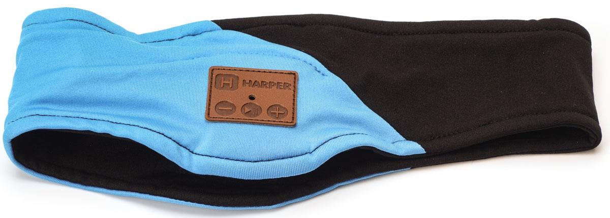 Harper HB-500, Black спортивная повязка с Bluetooth-гарнитуройH00000917Спортивная повязка Harper HB-500 с Bluetooth-гарнитурой. На местах, где находятся уши пользователя, вшиты наушники. В основе используется материал, состоящий из полиэстера - 90% и спандекса - 10%. Повязка не раздражает при длительной носке. Все активные элементы на правом наушнике.