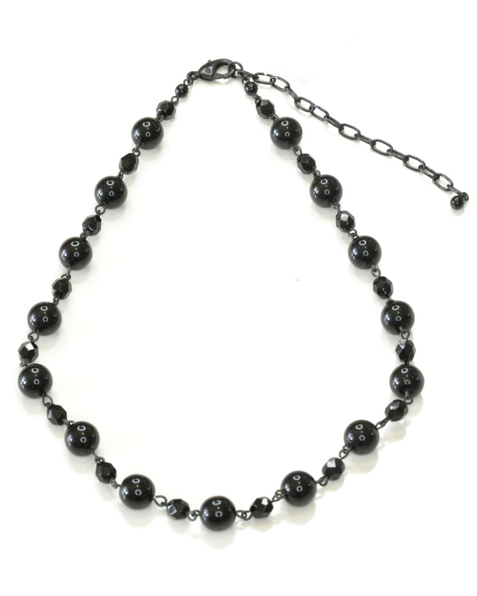 Бусы Bohemia Style, цвет: черный. BW1218 9193 49 BW1218 9193 49 бусы