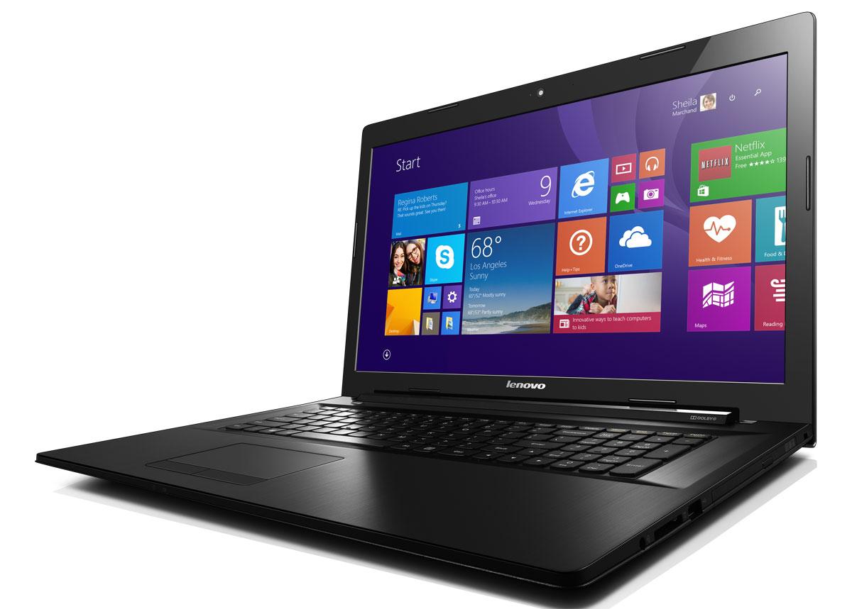 Lenovo IdeaPad B70-80, Black (80MR00Q0RK)80MR00Q0RKLenovo IdeaPad B70-80 - ноутбук для бизнеса с возможностями настольного компьютера. Отличная производительность, широкие возможности Новое 5-е поколение процессоров Intel Core обеспечивает отличное качество графики и высокую производительность. Его вычислительная мощность откроет перед вами новый уровень возможностей для работы и развлечений. Благодаря продолжительному времени работы от аккумулятора устройство можно использовать в дороге, не беспокоясь о подзарядке. Его возможности действительно впечатляют. Ноутбук B70 подходит не только для решения бизнес-задач и замены настольного ПК. Он обладает великолепными мультимедийными функциями для просмотра фильмов: приводом DVD Rambo и сертифицированной акустической системой Dolby для объемного звучания с эффектом погружения. B70 по плечу любая задача: работа, игры, прослушивание музыки. С помощью модулей связи 802.11 b/g/n Wi-Fi и Bluetooth 4.0 (опция) вы сможете с легкостью выходить в...