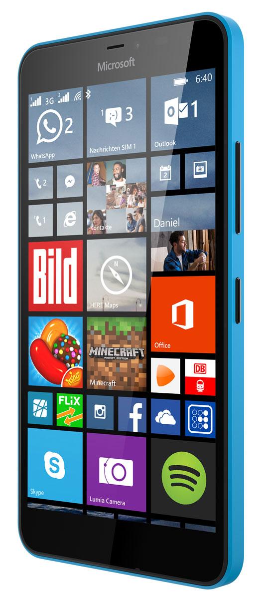 Microsoft Lumia 640 XL Dual Sim, Cyan