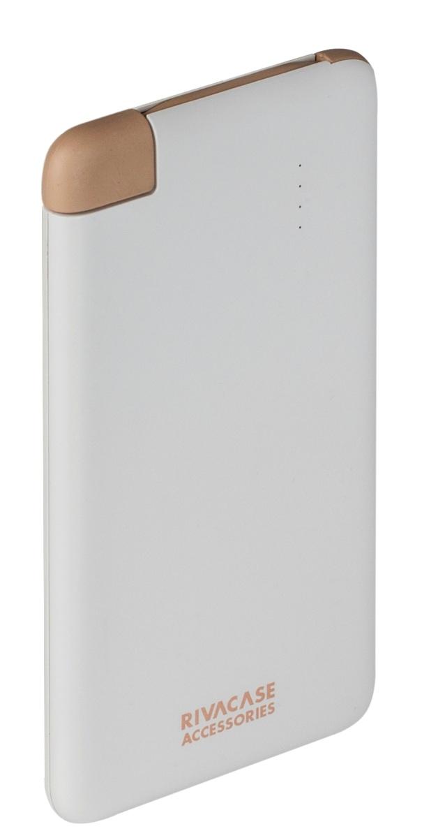Rivapower VA 2004 внешний аккумуляторVA 2004Литий-полимерный внешний аккумулятор Rivapower VA 2004 емкостью 4000 мАч совместим со всеми популярными моделями смартфонов и планшетов. Для удобства устройство оснащено встроенным micro - USB кабелем - вам не нужно носить дополнительных кабелей! Защита от перегрузок, короткого замыкания, чрезмерного заряда и разряда обеспечат долгий срок службы устройства и предотвратят его преждевременную порчу. Достаточно подключить кабель к micro - USB разъему мобильного устройства, чтобы зарядка началась, а по ее завершении аккумулятор автоматически отключится. Для проверки уровня заряда просто несильно хлопните по корпусу аккумулятора и 4 светодиодных индикатора на лицевой стороне покажут оставшийся уровень. Вы можете зарядить ваш смартфон до 2 раз, в зависимости от емкости батареи мобильного устройства. Rivapower VA 2004 при правильной эксплуатации может быть заряжен и разряжен более чем 500 раз. Компактный и стильный дизайн позволяет носить аккумулятор даже в кармане.