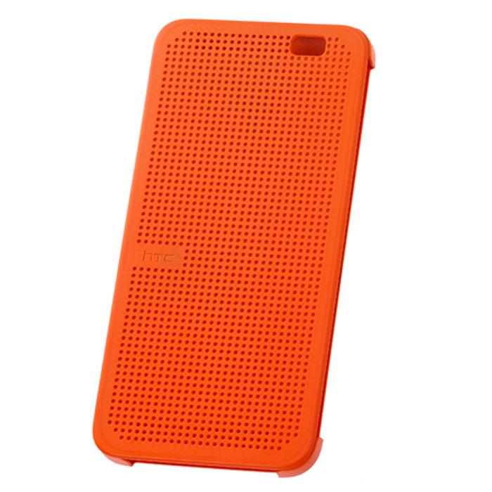 HTC Dot View HC M100 чехол для One 2 (M8), Orange99H11469-00Стильный чехол HTC Dot View HC M100 для One 2 (M8) обеспечивает одновременно и защиту телефона, и управление им даже при закрытой передней крышке. В отличие от сплошной поверхности со всех остальных сторон, передняя крышка имеет множество отверстий, благодаря чему даже не открывая ее можно получать уведомления о новых сообщениях электронной почты, напоминаниях календаря, прогноз погоды и т.п. Оцените преимущество новых способов использования телефона в этом функциональном чехле, а также стиль отображения информации, присущий классическим электронным устройствам.