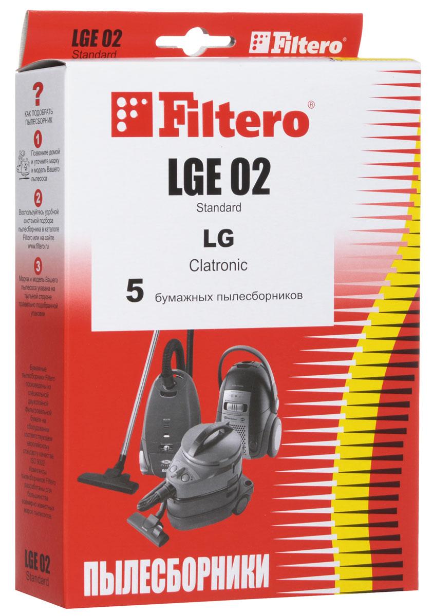 Filtero LGE 02 Standard пылесборник (5 шт)LGE 02 (5) StandardОдноразовые бумажные мешки для пылесосов Filtero LGE 02 Standard сделаны из высококачественной многослойной фильтровальной бумаги, которая пропускает воздух, но задерживает даже самые маленькие частицы пыли. Бумажные мешки для пылесосов защищают двигатель от основного потока пыли, а, следовательно, и от перегрева вследствие засорения и преждевременного износа. Они предназначены для одноразового использования и прекрасно подходят для уборки в больших помещениях. Пылесборники подходят для следующих моделей пылесосов: LG 43... Limpio 44... Limpio например: 4440 Limpio 45... Limpio V 28... например: V 2810 TE V 40... V 44... V 45... V-C 43... CLATRONIC BS 1206